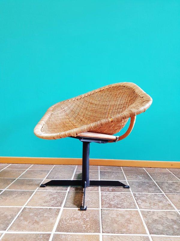 basket chair / lounge sessel/ korbsessel