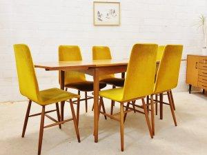 Dining Chairs, Stühle, 6er Set, Mid Century, 60er Jahre