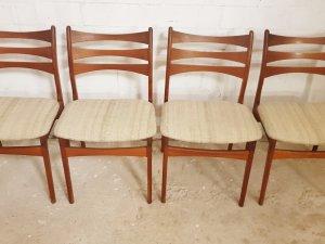 Stühle, Viborg, Dining chairs, 1960er, Teak