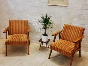 Cocktailsessel, 60er, Easy Chair, Mid Century, Armlehnenstuhl, Vintage