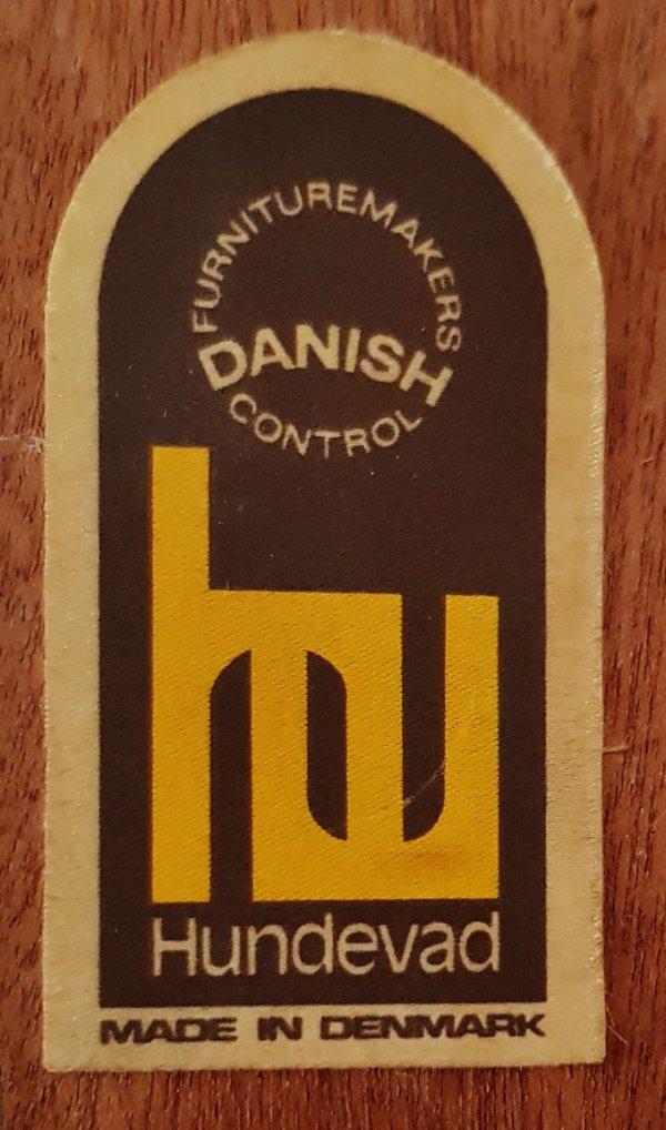 Vitrine, Teakholzschrank, Bücherschrank, Blibliothek, Hundevad, Danish Design, 1960, Mid century