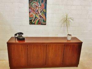 Sideboard, Skovby Möbel, Palisander, Rosewood, Lowboard, Kommode, Schrank, Danish Design, Made in Denmark, Schubladen, Türen, 1960, Mid Century, Vintage
